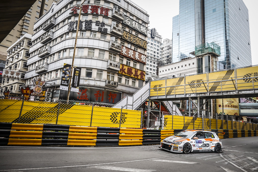 06 Rui Valente (MAC), PCT Racing T eam, Volkswagen Golf GTI TCR, action during the 2018 FIA WTCR World Touring Car cup of Macau, Circuito da Guia, from november  15 to 18 - Photo Francois Flamand / DPPI