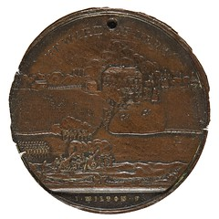 1777 Battle of Germantown Medal obverse