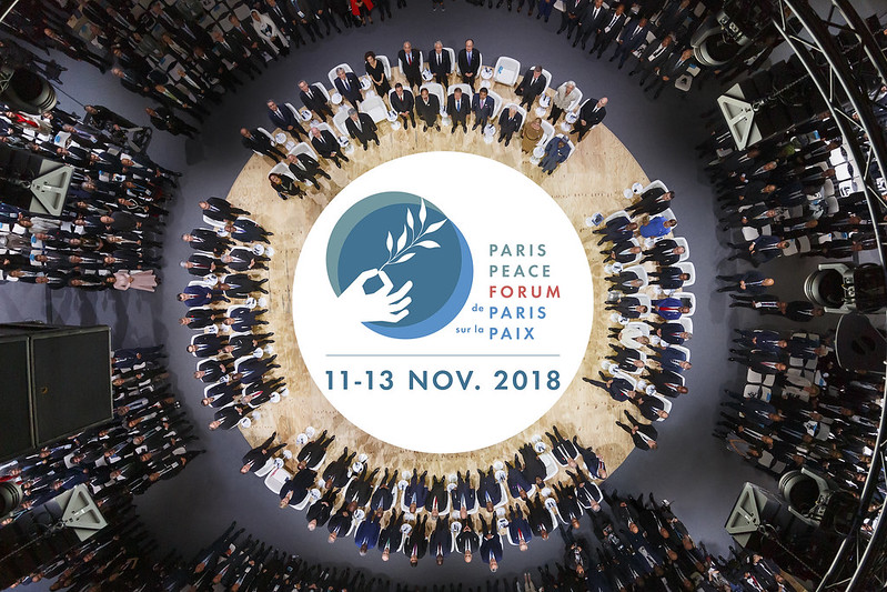 The Paris Peace Forum in 24 shots