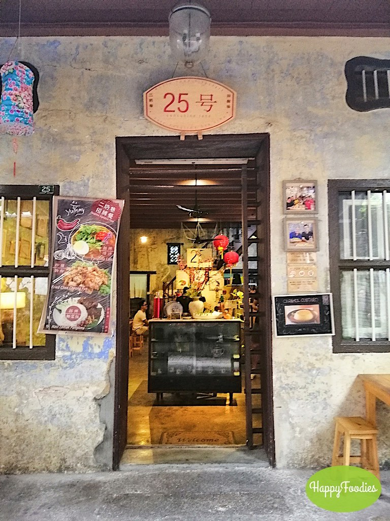 Cafe entrance at concubine lane