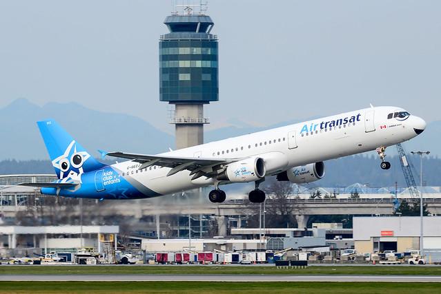 CYVR - Air Transat A321-200 C-GEZJ