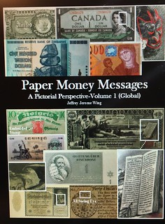 Paper Money Messages vol 1 book cover