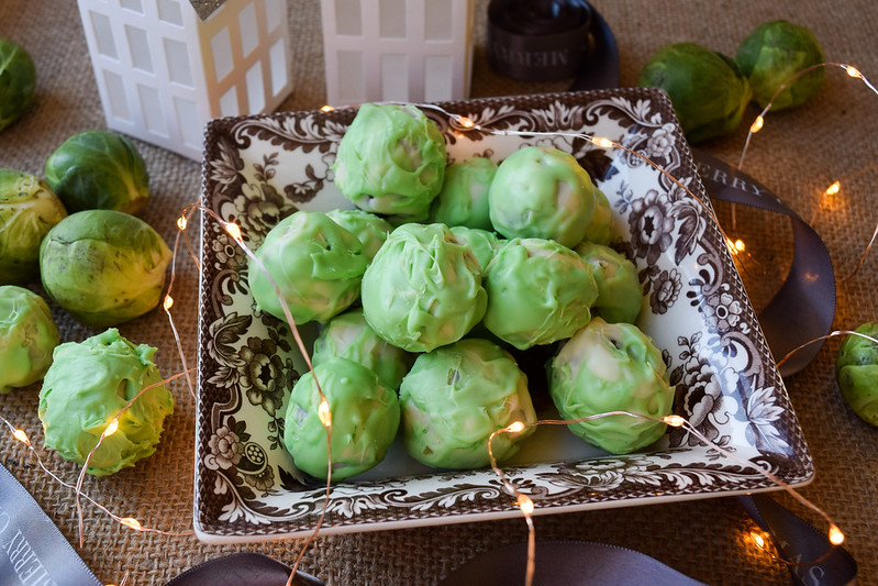 Brussels Sprout Chocolate Truffles