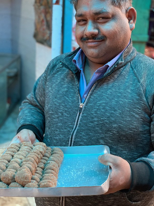 City Food - Mathura ka Peda, Kucha Pati Ram