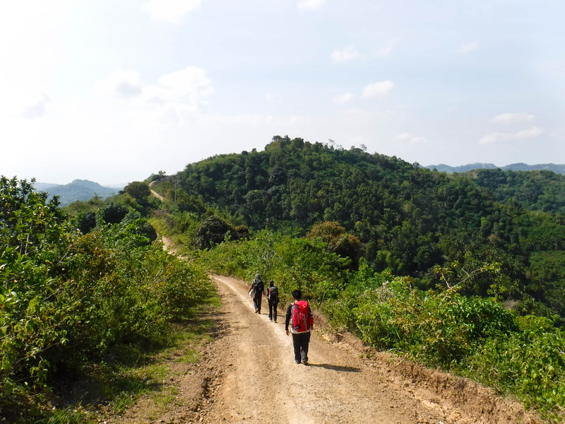 Hot hike
