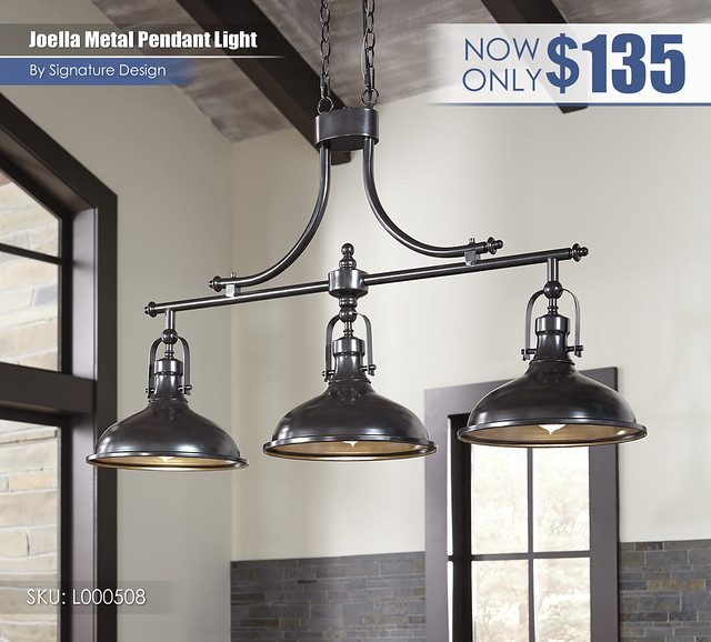 Joella Metal Pendant Light_L000508