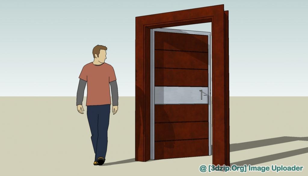 1335 Collect The Door Sketchup Model Free Download