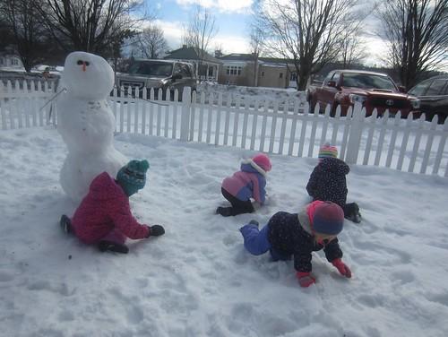 snowballs for a snowman