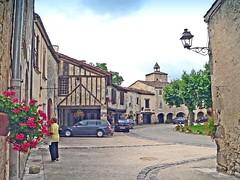 France, Fourcès, Séviac, Larressingle