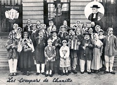 1960 Champlitte (30) compars de Chanitte