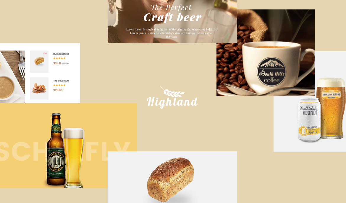 Bos Highlands - Food and Drink Prestashop Theme
