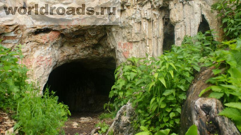Озёрная пещера