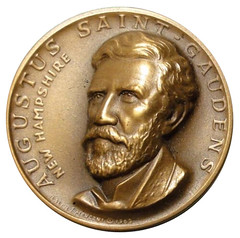 St-Gaudens New Hampshire medal obverse