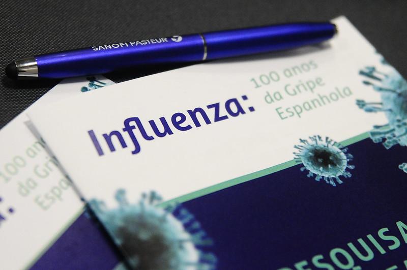 Saúde realiza Seminário sobre 100 anos da Influenza