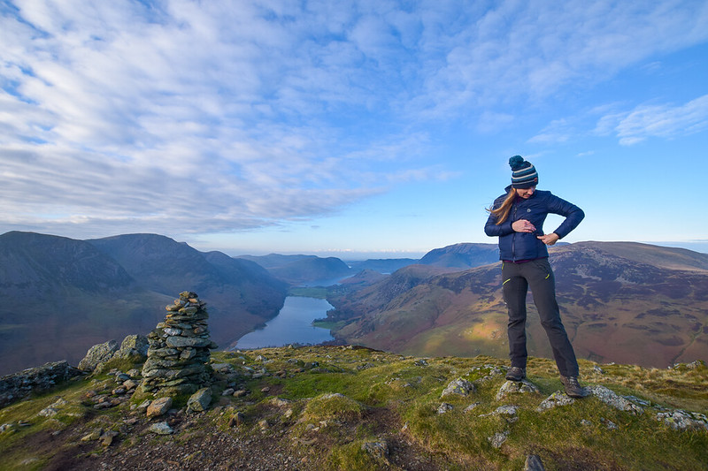 Borrowdale Hike via Fleetwith Pike + Haystacks Lake District DSC_2019
