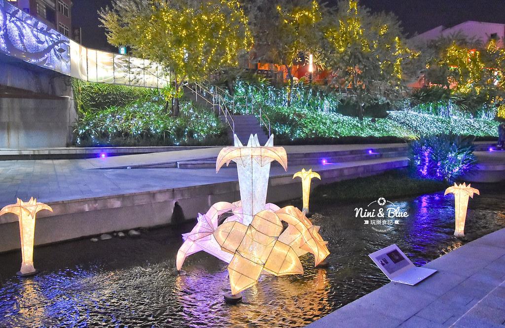 柳川 水中聖誕樹 耶誕樹04