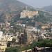 2018-10-26 0696 Indien, Jaipur, Amber, Blick auf die Stadt