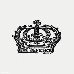 Vintage royal crown