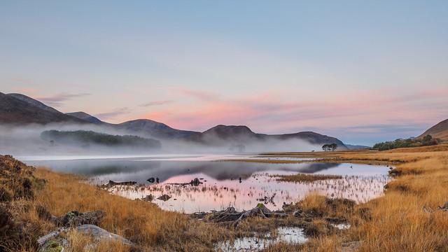 Misty Loch Droma, Olympus E-M1, LEICA DG 8-18/F2.8-4.0