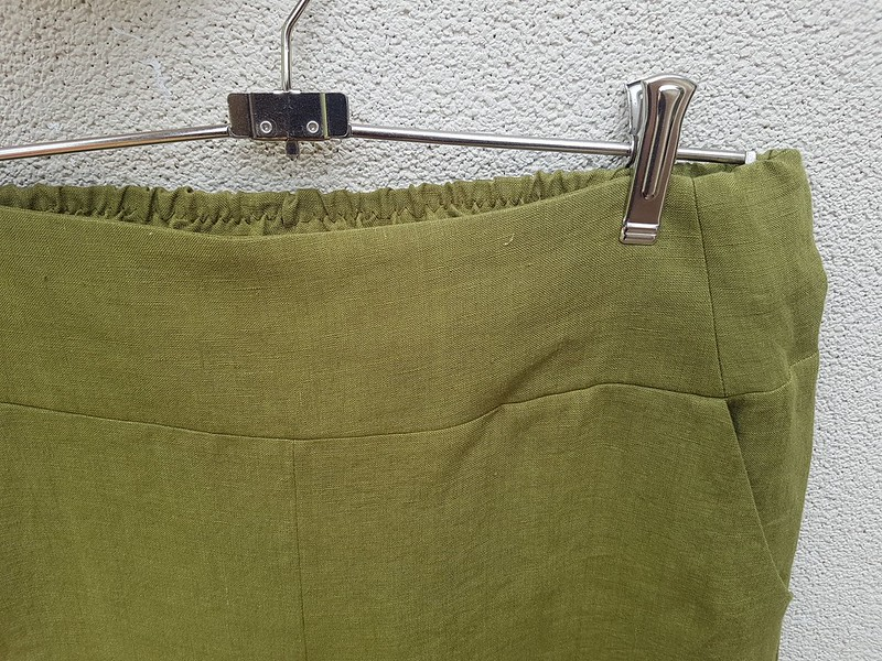 Style Arc Fifi pants in linen - detail