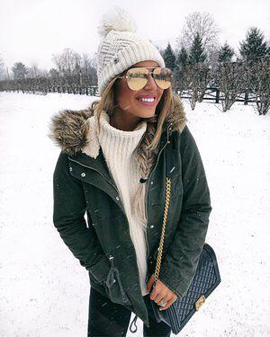 Парка удачная верхняя одежда для зимы