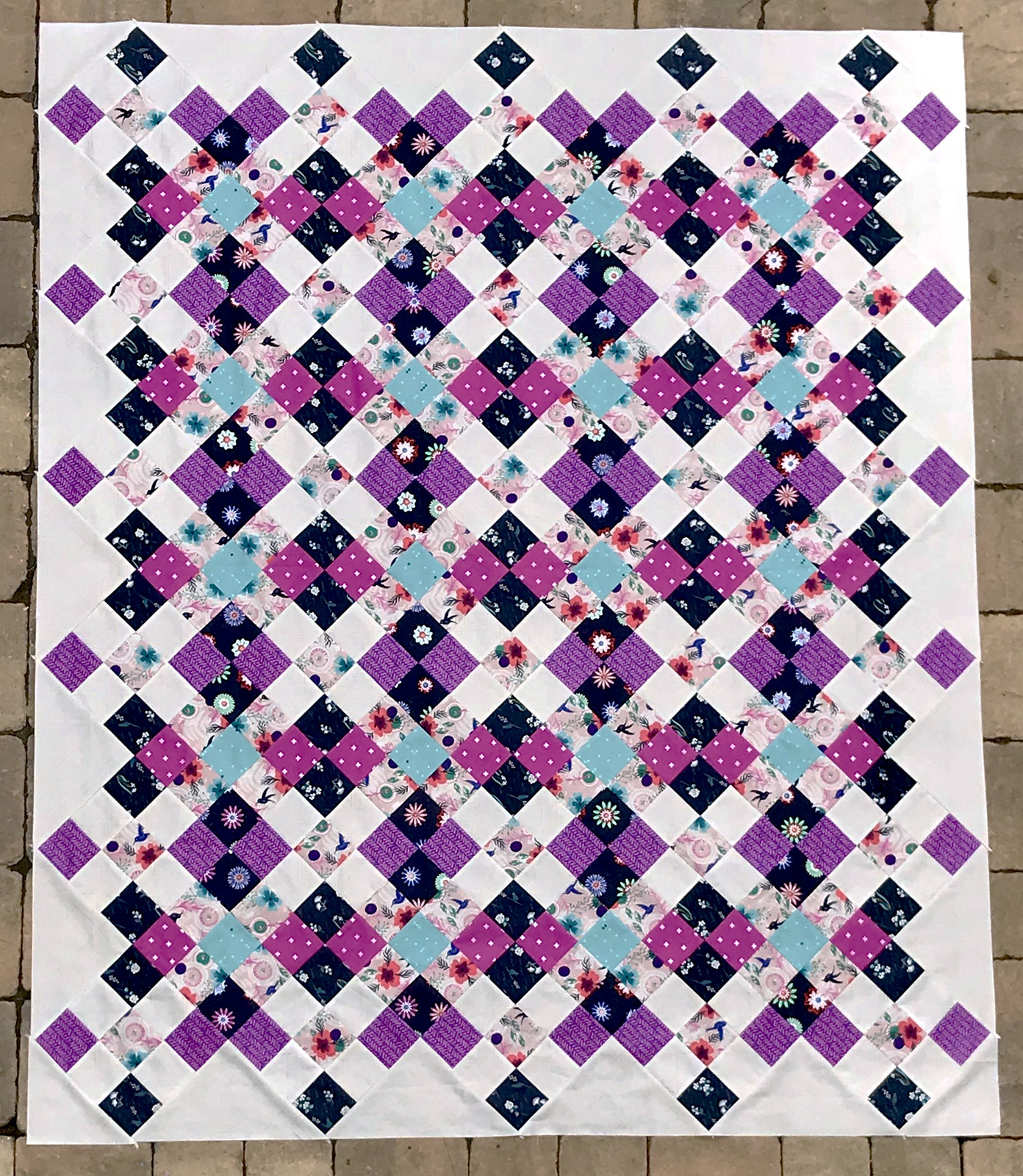 Isabelle's Nancy Quilt