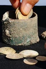 Caesarea gold coin hoard