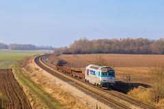 21 janvier 2019 BB 67451 Train 816433 Noisy-le-Sec -> Longueville Maison-Rouge (77)