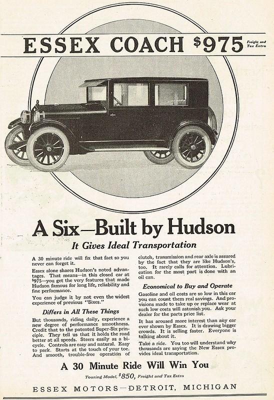 1924 Hudson Essex