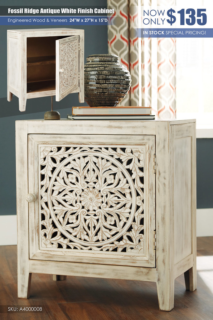 Fossil Ridge Antique White Cabinet_A4000008