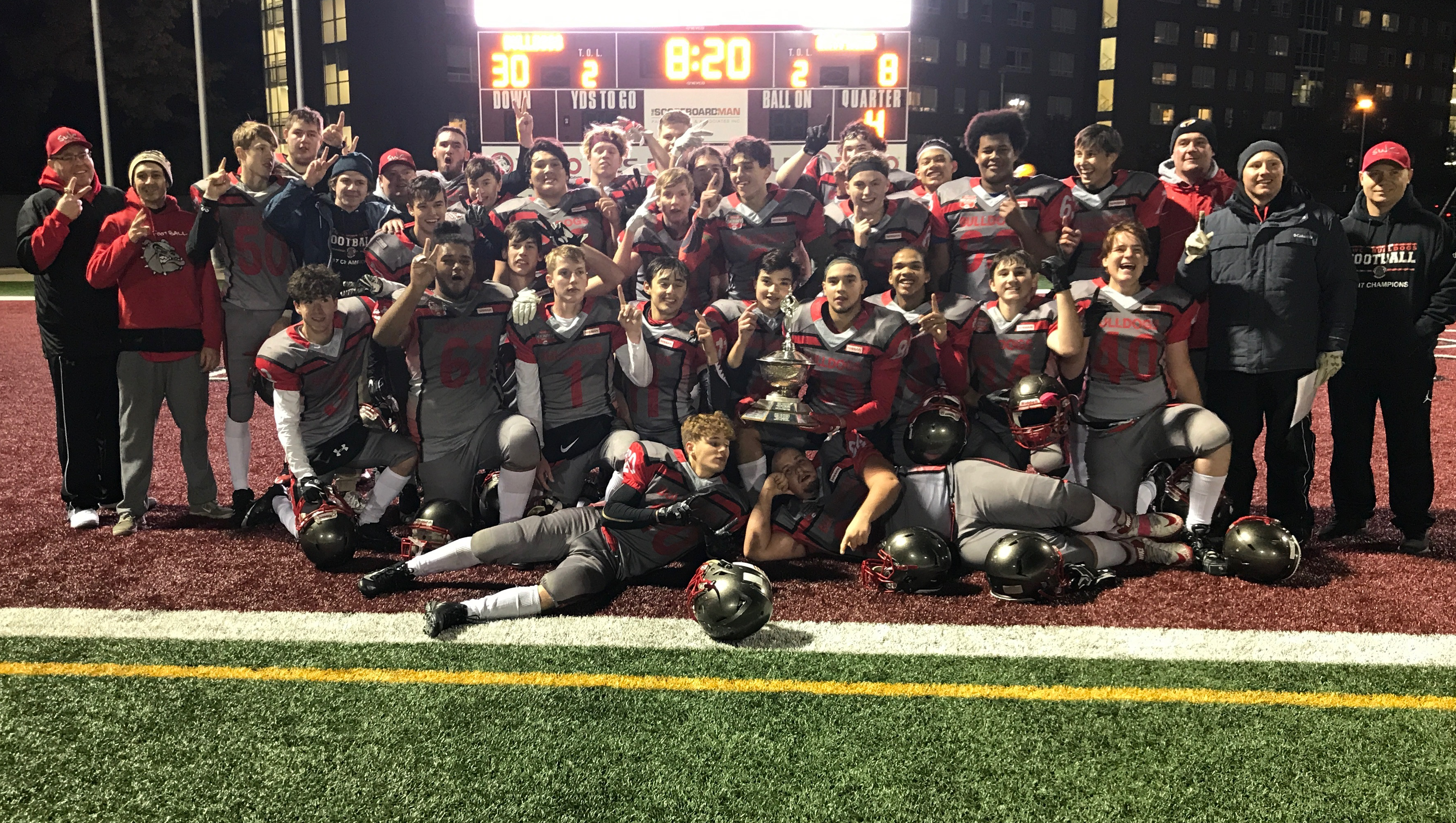 2018-19 HWIAC Senior Football Championship