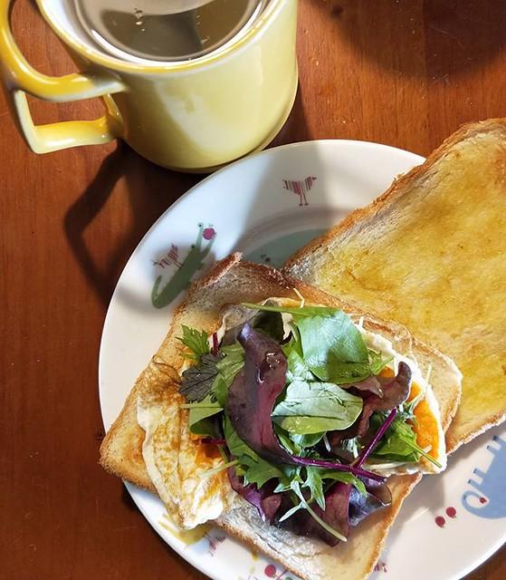 20181116 運動休日 好好吃早餐 #主婦的早餐