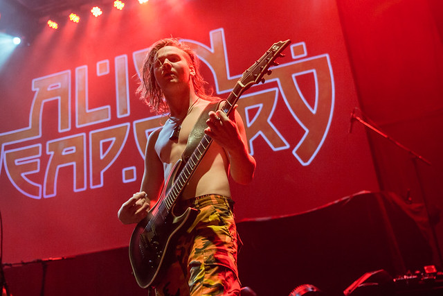 Alien Weaponry @ The Fillmore, Silver Spring MD, 12/05/2018