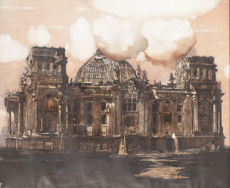 Roj Friberg - The Reichstag House in Berlin, 2000