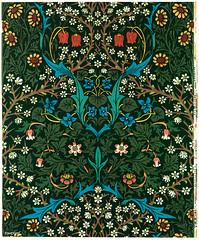 Tulip by William Morris (1834-1896). Original from The MET Museum. Digitally enhanced by rawpixel.