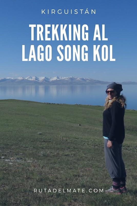 Trekking para visitar el Lago Song Kol