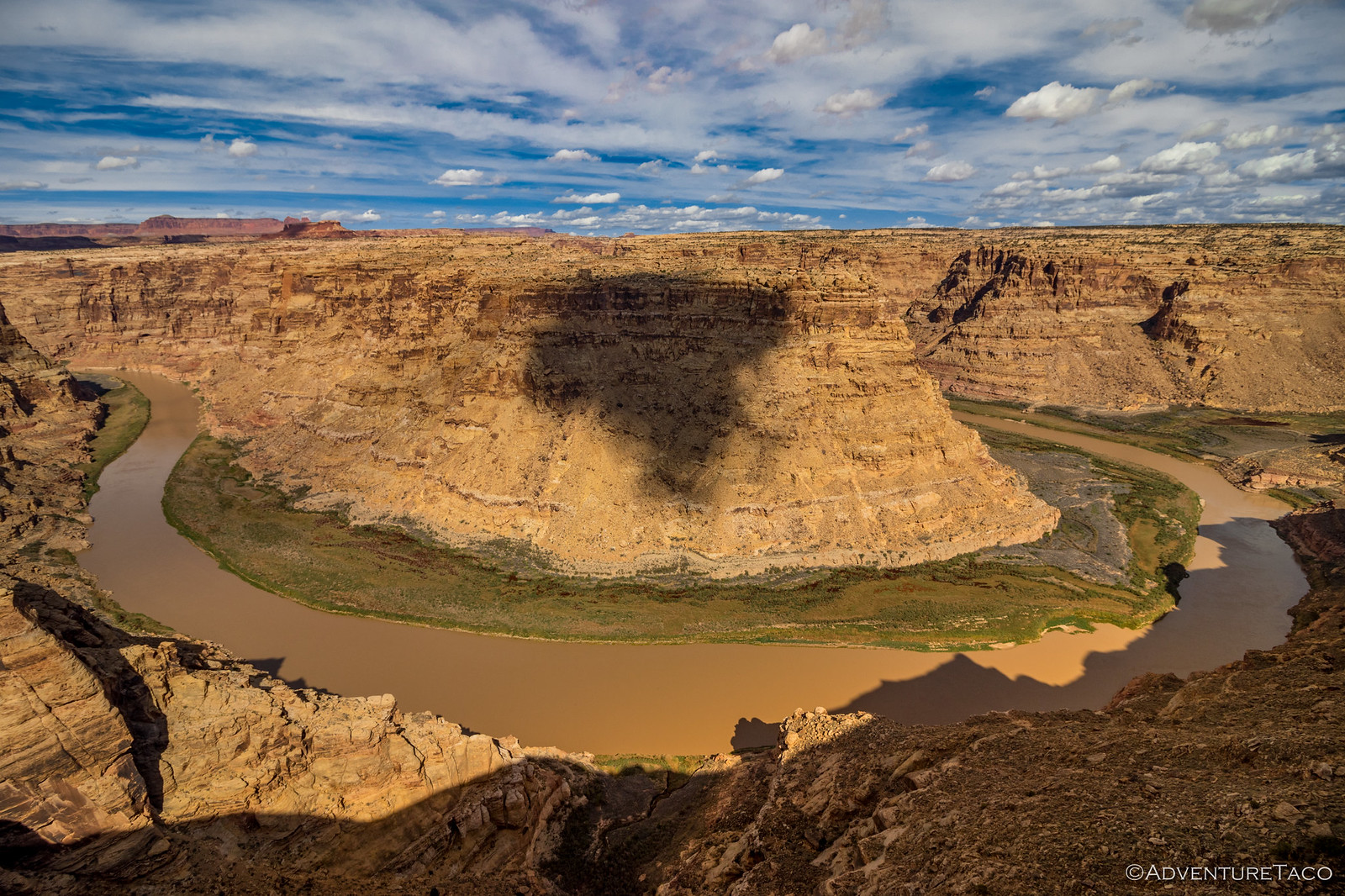 horseshoe meander of the colorado river