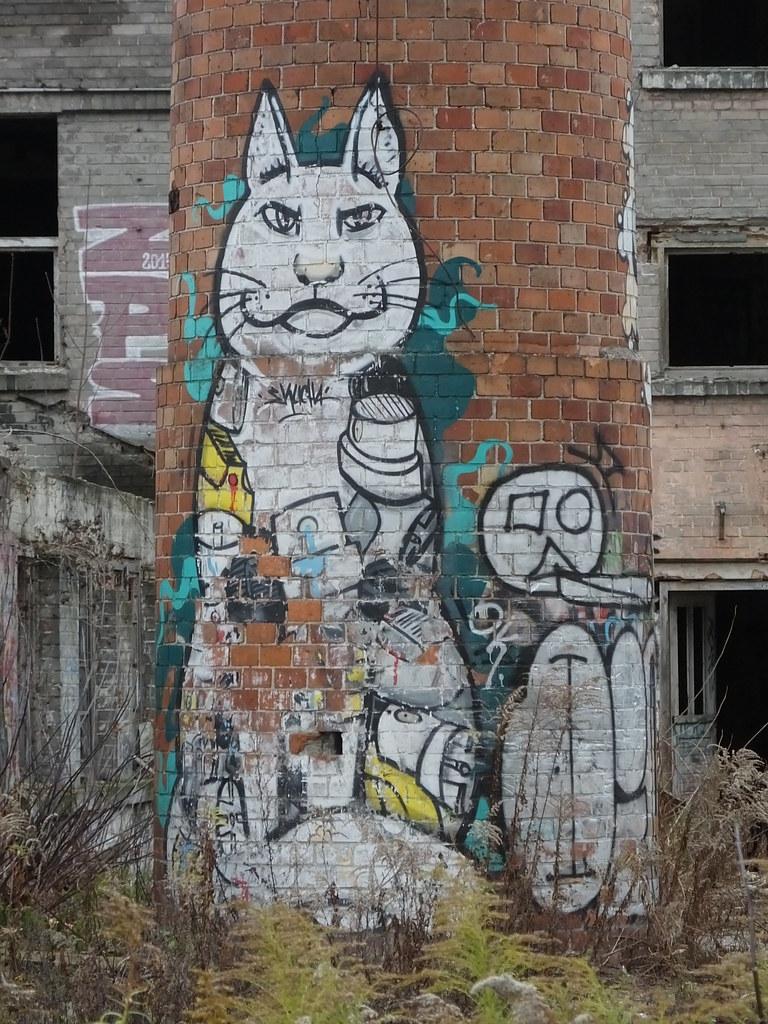 Street art, Nowa Praga. Warsaw, Poland