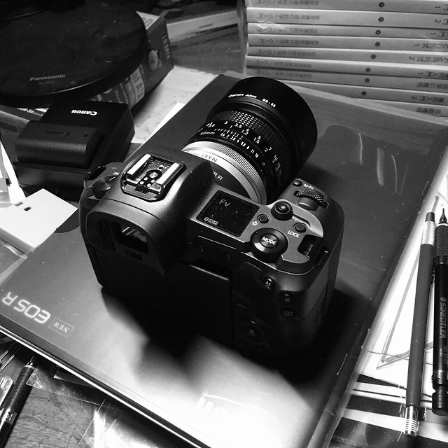 my EOS R & FD50mmF1.4