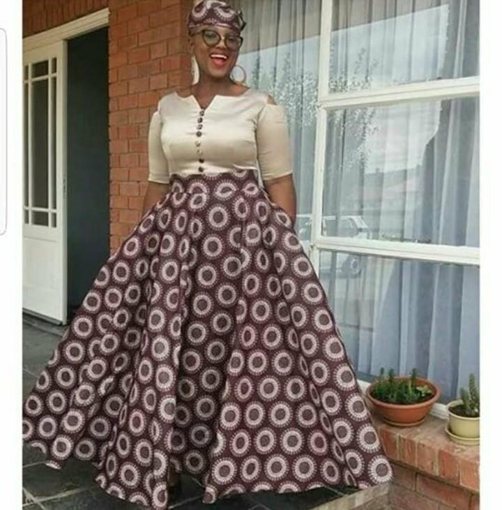 Amazing Traditional Shweshwe Dresses 2019