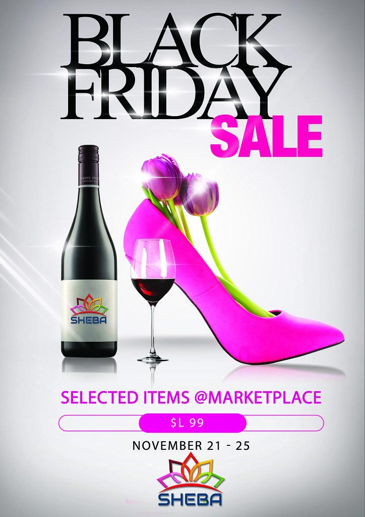 SHEBA BLack Friday Sale - TeleportHub.com Live!