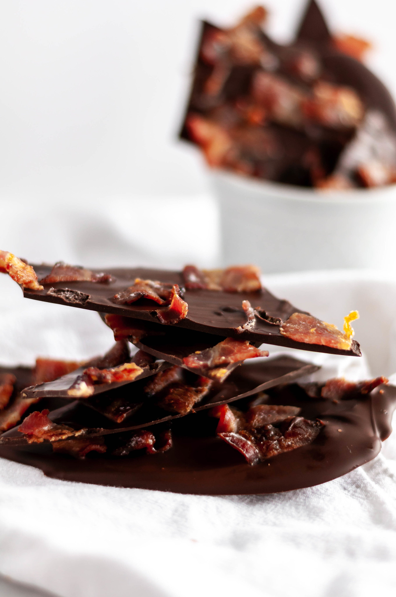 Candied Bacon Bark is a super simple, 4-ingredient treat that is perfect for the bacon lover in your life this Christmas. A fun, different addition to your Christmas baking list this year.