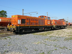 Colas-Rail en gare d'Anor - Photo of Clairfontaine