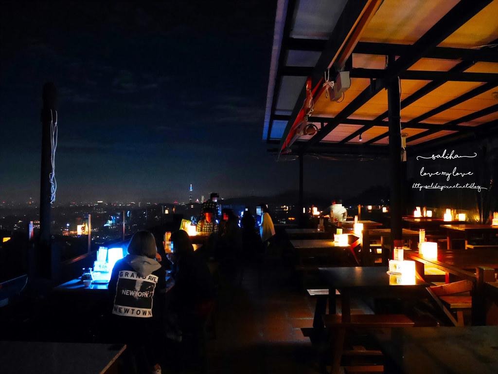 台北看夜景景觀餐廳咖啡貓懶MAOLAN餐點下午茶 (3)