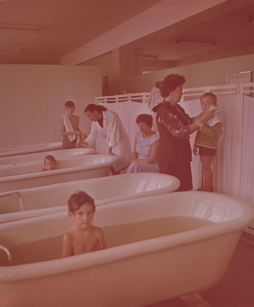 Алтайский край. Санаторий «Сибирь». Ванное отделение