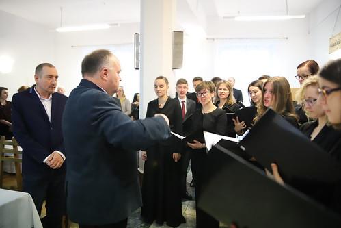 Spotkanie opłatkowe pracowników UPJPII | Abp Marek Jędraszewski, 20.12.2018