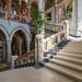 Mount Stuart House marble stairway