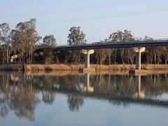 Concrete Bridge Over the Murray