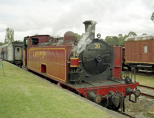 Steamfest on Richmond Valley Railway
