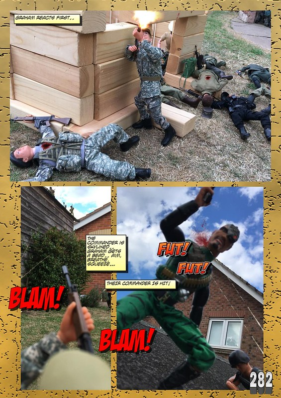 BAM2272 Presents - An Old Face Returns! Chapter Eighteen - The Munrovians Prepare their defences - Part Two 45781187121_1017c50e0f_c